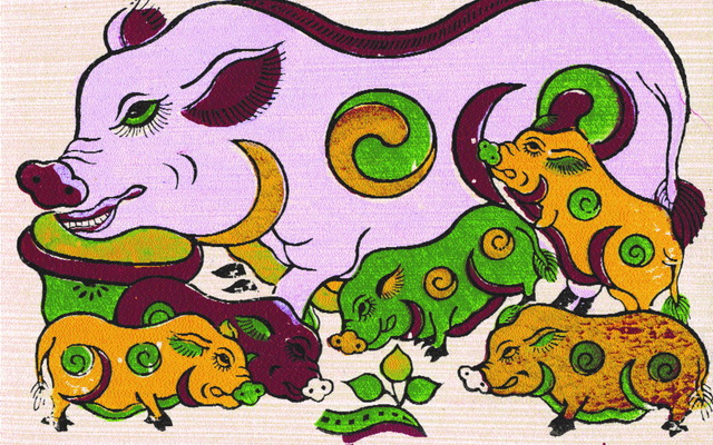 Vị trí và ý nghĩa của con heo trong 12 con giáp : Tại sao con Lợn lại được xếp hàng thứ 12 trong 12 con giáp? Thực ra thì nó có nguồn gốc rất xa...