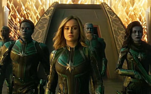 Captain Marvel thống trị phòng vé : Hiện tổng doanh thu toàn cầu của phim đang cán mốc 455 triệu USD. Thành tích ngoạn mục này đưa bộ...